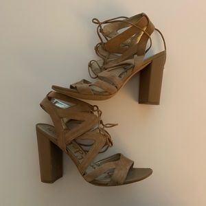 Sam Edelman Heeled Sandals - Sz 8